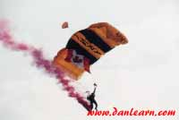 U.S. Army paratrooper