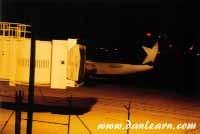 Shuttle America plane