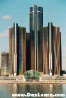 Detroit skyscrapers