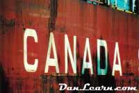 Ship side markings