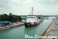 U.S.C.G. Neah Bay in Welland Canal