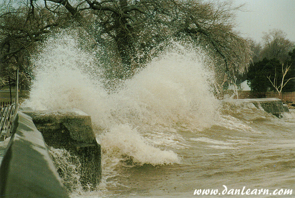 Nature's fury on Lake Erie