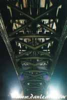 Underside of Peace Bridge