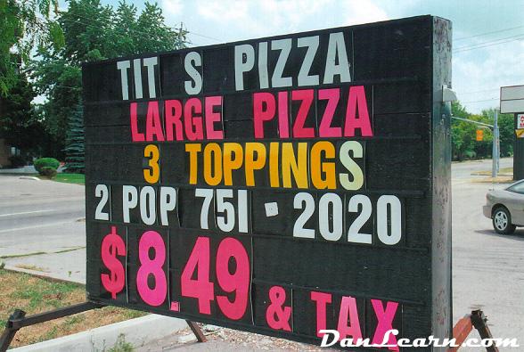 Tit's Pizza
