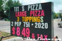 Tit's Pizza