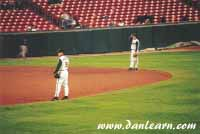 Buffalo Bisons infield