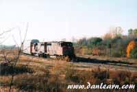 CN train in Fort Erie
