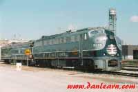 Illinois Central Executive train