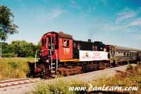 Canal Days passenger train