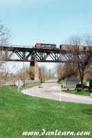 Railway bridge over Grand River