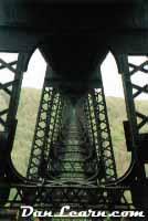 Underside of Kinzua Bridge