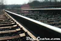 Close-up of rail