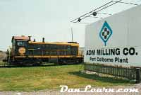 PCHR locomotive at ADM mills