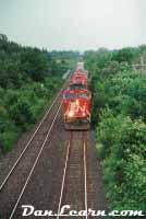 CN train in Jordan