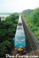 VIA passenger train