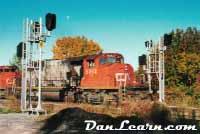 CN train passing signals