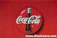 Coca-Cola logo on trailer